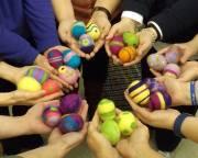 Easter Egg Felting Party