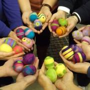 Easter Egg Felting Party